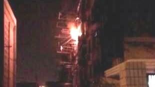 金山 | 石化七村一民宅爆燃 1人受伤