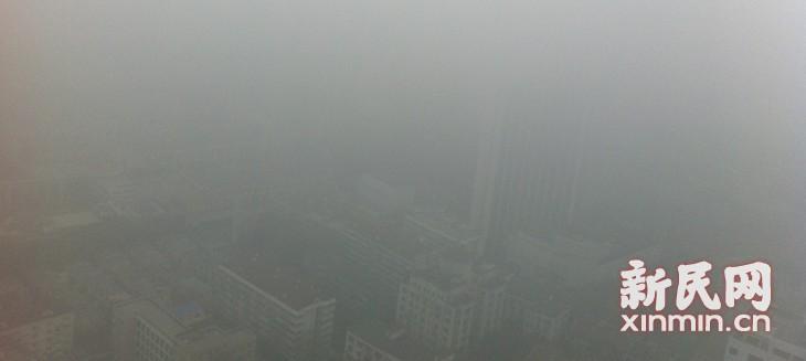 冷空气携污染物入侵申城 今晨已重污染