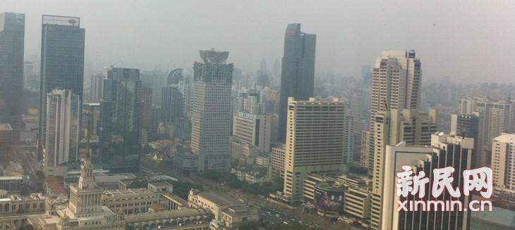 冷空气扩散 申城空气质量已转为良好