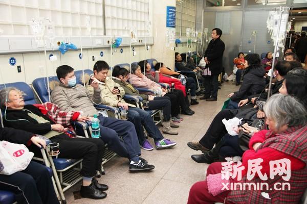 上海进入流感高发期 医生:不能光靠喝水