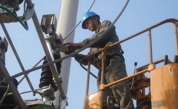 永定供电 技改变电站 备战保供电
