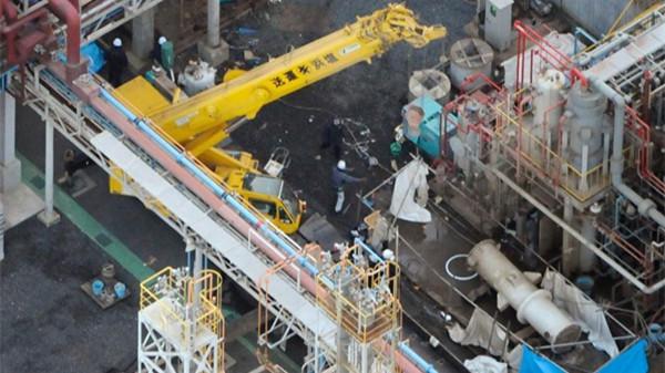 日本三重县一化工厂爆炸造成5人死亡