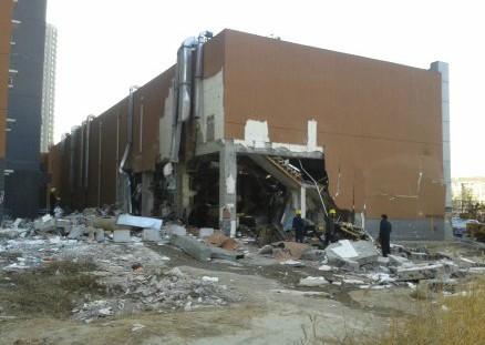 河北燕郊一饭店液化气爆炸致1死33伤