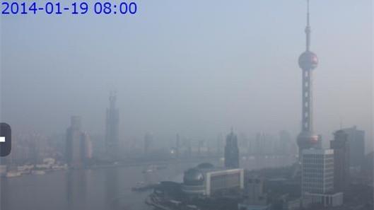 申城今晨空气质量重度污染 下午或好转