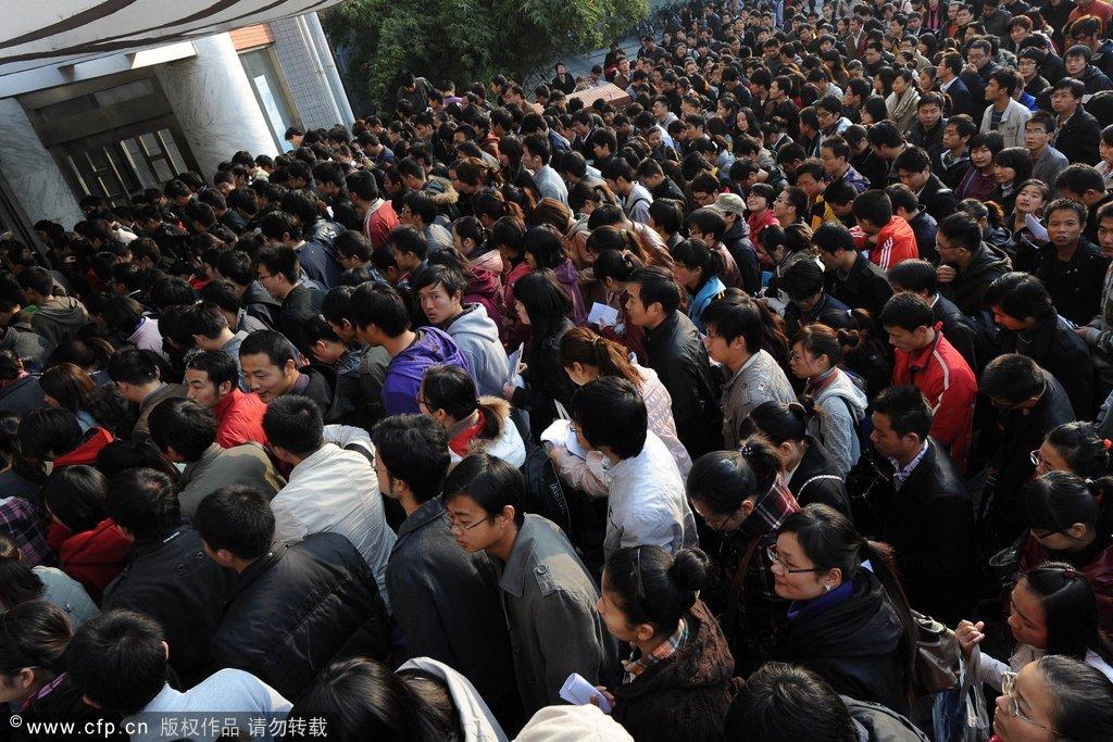 上海公务员昨开考 考生:很多题看不懂