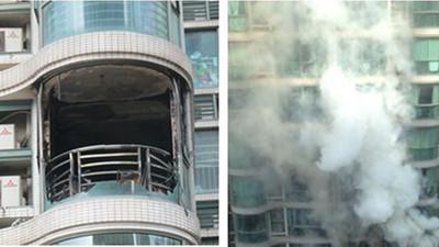 闸北 | 城上城高层居民大楼突发火灾