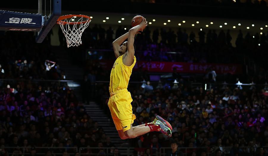 (体育)(1)篮球——cba全明星赛:扣篮大赛