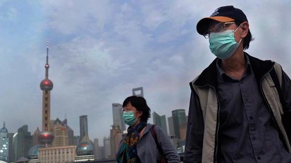 冷空气带来粗颗粒物 沪今空气重度污染