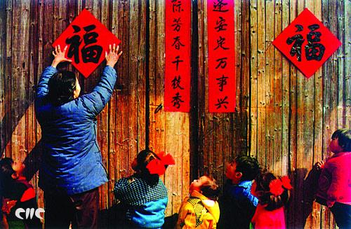 马跃龙腾贺新春 晒晒各地的春节民俗