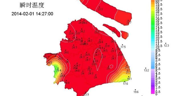 """申城今""""马上升温"""" 杨浦最高达25.3度"""