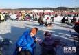 滑冰车马拉犁抽冰嘎 去东北乐玩冰雪大世界