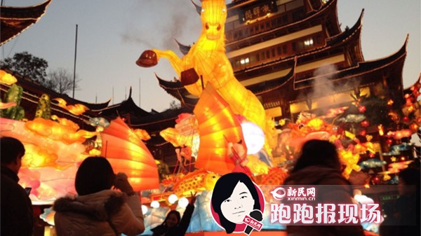 申城景点人气旺 360余万人来沪过春节