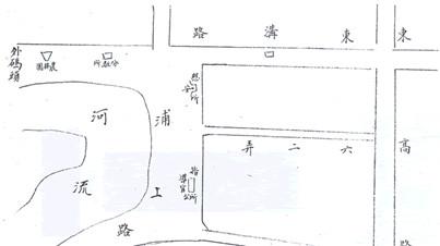 浦东旧地图标