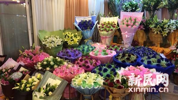 沪玫瑰价格飙升 商家:从业18年来最高价