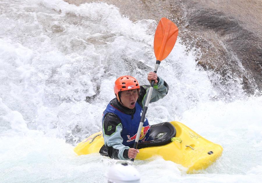 (帆船)(4)皮划艇--红牛花式皮划艇冲浪赛:李小青英语体育怎么读图片