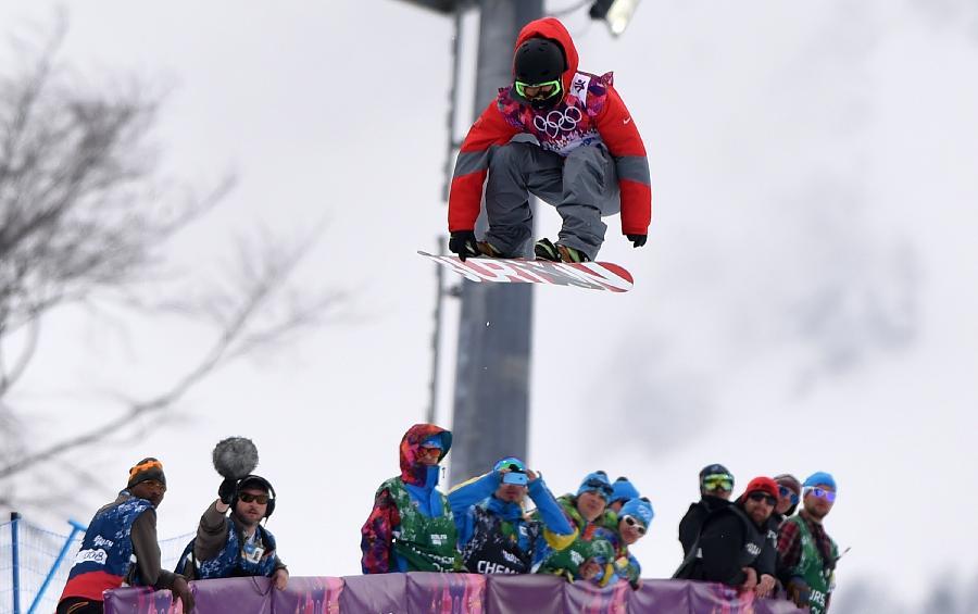 (冬奥会)(2)单板滑雪——男子u型场地技巧:史万成