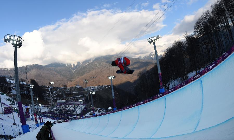 (冬奥会)(2)单板滑雪——男子u型场地技巧:张义威