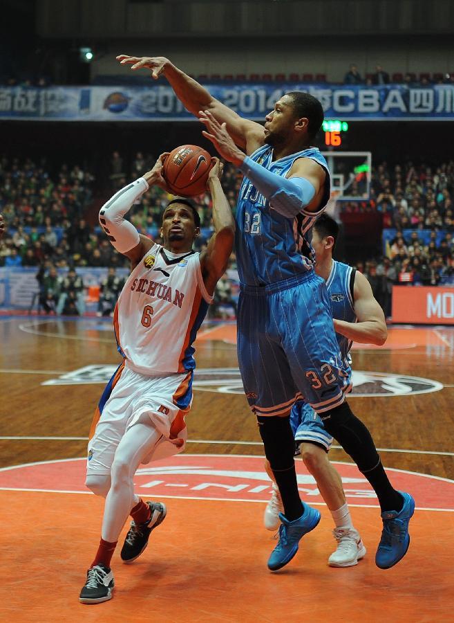 (体育)(1)篮球--CBA:四川队胜北京队