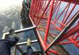 俄攀高狂人翻入上海中心工地攀高650米
