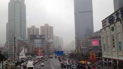 申城郊区或有雨夹雪 明天雨势将减弱