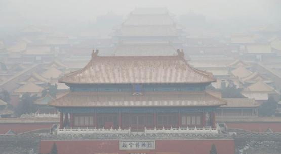 中东部重霾达81万平方公里 20城重污染