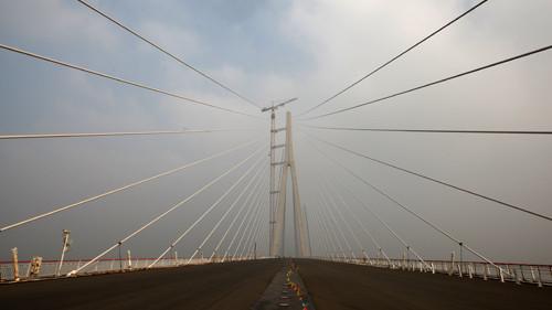 沪通长江大桥开建 南通到上海仅1小时