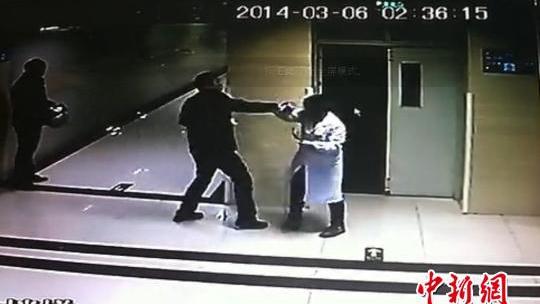 宁波男子殴打女医生 因高血压免拘留