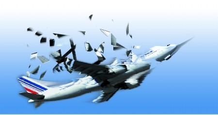 飞机空中解体原理:好像气球爆裂一样
