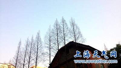 申城今日晴暖风送雾霾 半夜小雨再来