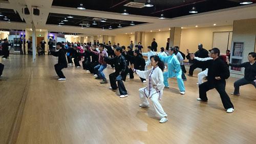 上海最大的太极拳馆在静安区开业