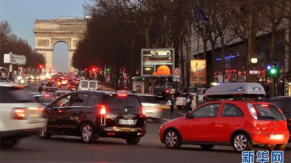 巴黎等地今起车辆单双号限行应对污染