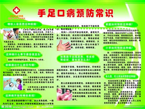 手足口病预防知识