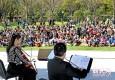 申城周末天气晴好 市民踏春游玩