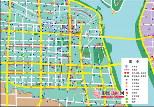 临沂民生地图将遍及街头 市民想去哪一查便知