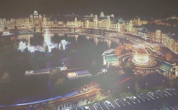 上海迪士尼旁将现奢侈品奥特莱斯