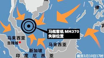 【新视焦】MH370失联超63小时 11国联手南海救援