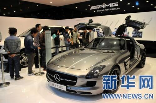 2014春季大河国际车展在郑州开幕