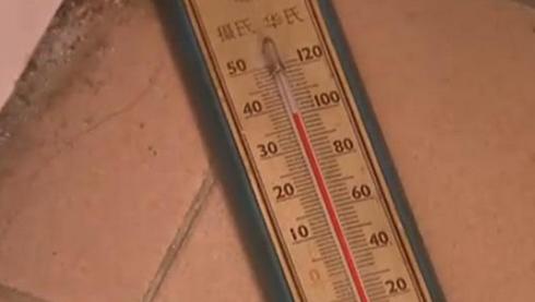 虹口一门卫室地砖莫名升温至40度 热源成谜