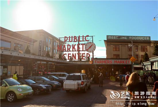 派克   市场地址:西雅图市中心的   派克   街1501号   市高清图片