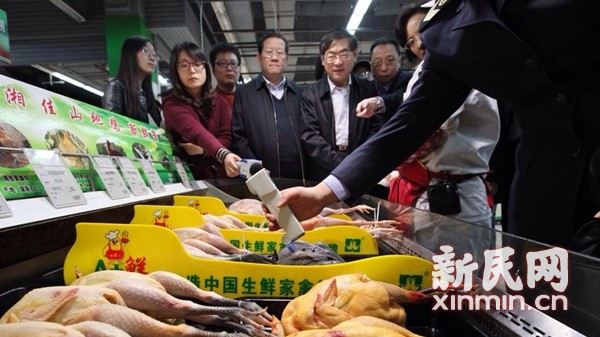 沪部分商家冷鲜鸡保存温度超标 昌化菜市场等上黑榜