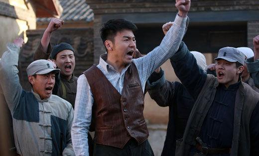 鞍山演员雷佳音主演抗日战争剧 变身 大英雄