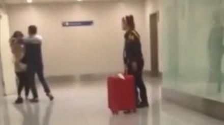 菲移民局职员机场殴打中国女子被停职