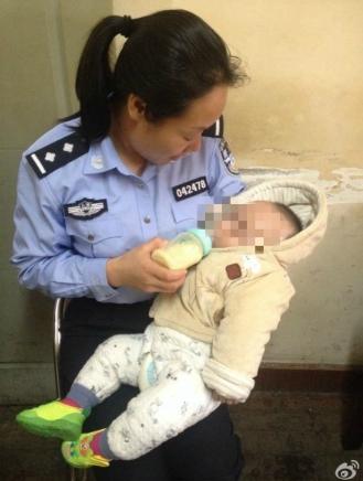 闵行|男婴被弃路边 身上纸条称没钱看病