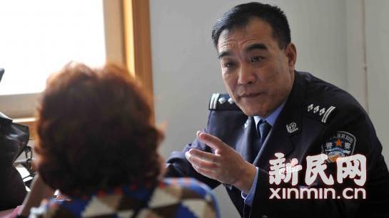 沪莲花公寓社区民警18年照顾19位孤老