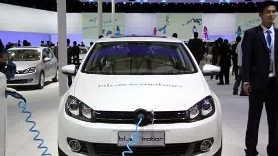 上海鼓励购买新能源汽车 可免费上牌照