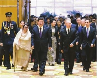 习近平:将携手推动全亚洲团结合作发展