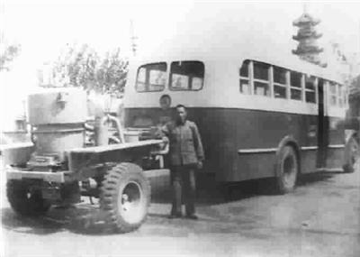 档案馆公布一批珍贵档案:上海64年前就有新能源公交