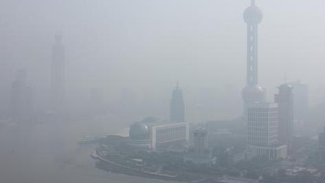 高温高湿且风小 申城今早再度重度污染