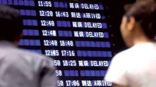 航班机坪延误应每半小时告知航班动态