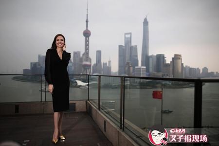 看图! 皮特、朱莉来上海了